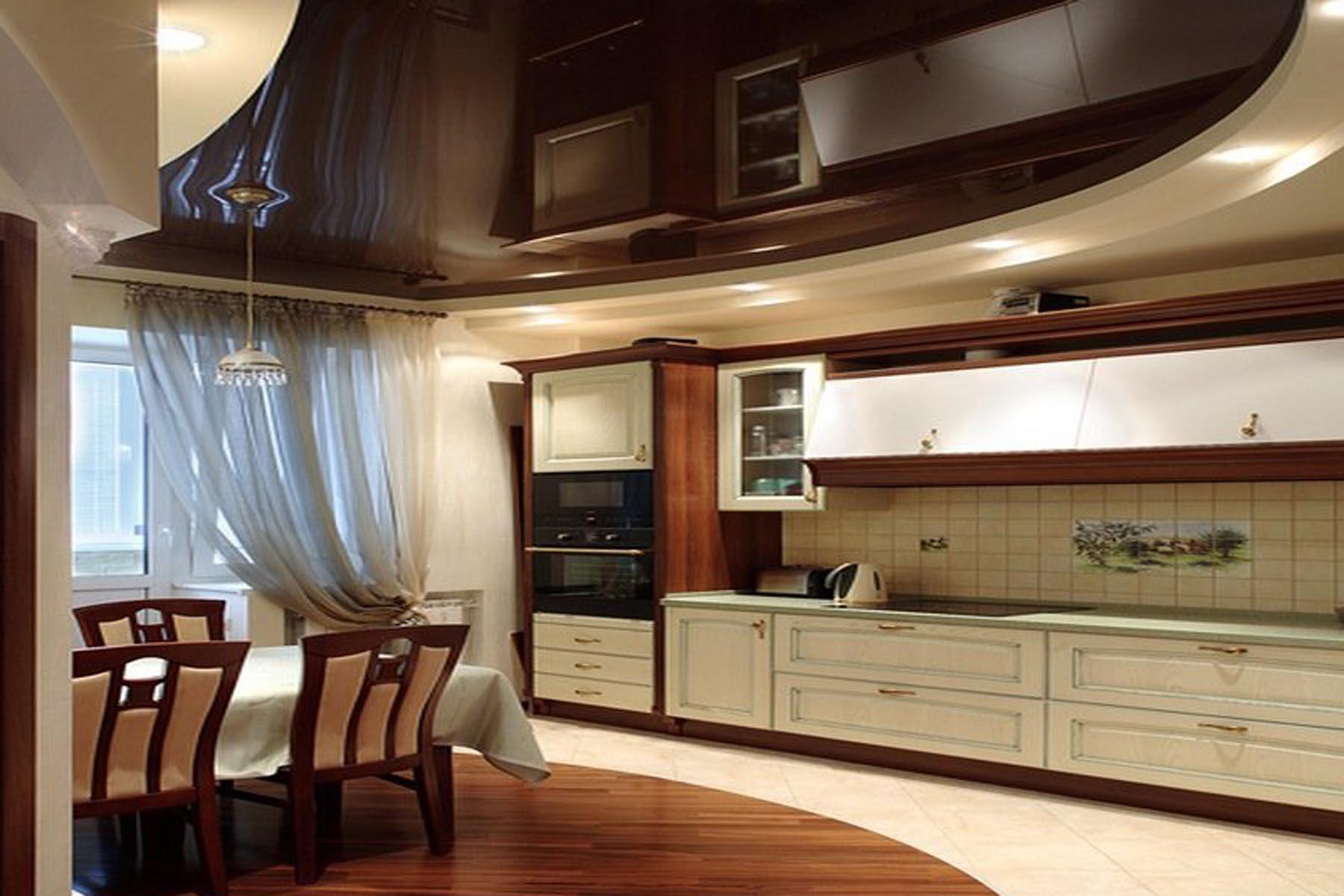 50 Идей дизайна потолка на кухне: советы эксперта (фото)