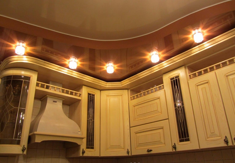 Фото потолков для кухни из гипсокартона дизайн