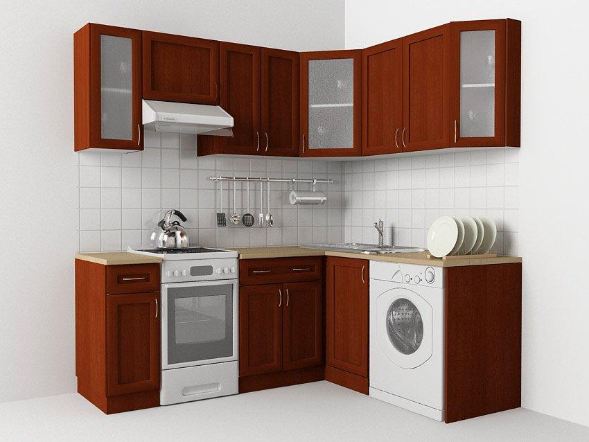 Угловая кухня эконом-класса