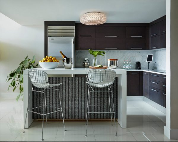 Дизайн для кухни 2017 года под потолок
