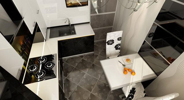 Дизайн кухни в хрущевке 6 кв м — фото и планировка