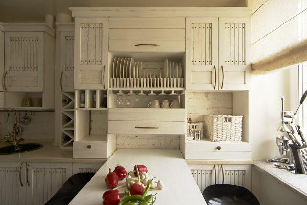 кухня 6 кв.м в стиле прованс