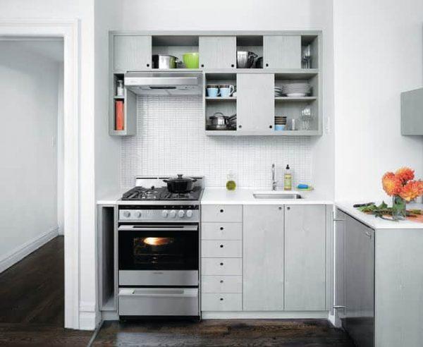 Дизайн светлой кухни 6 кв м в хрущевке