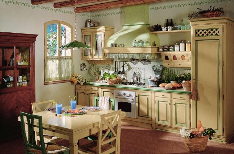 Дизайн кухни в стиле кантри — 52 фото идей оформления