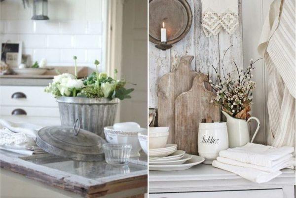 предметы декора на кухне в стиле кантри