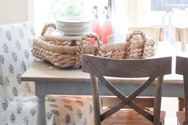 стильный декор на кухне в стиле кантри