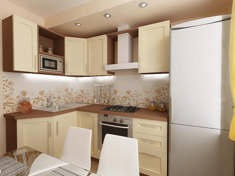 кухонный гарнитур для кухни 8м.кв