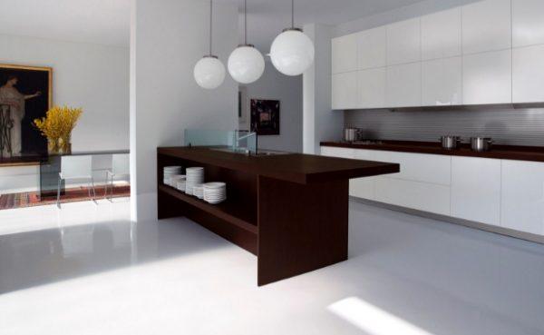 "Стол из дерева на кухне ""модерн"""