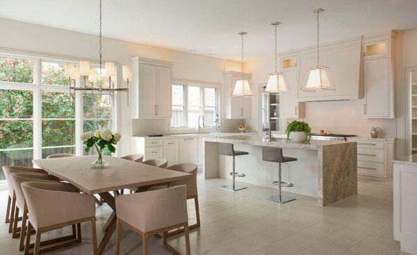 светлая кухня 2017