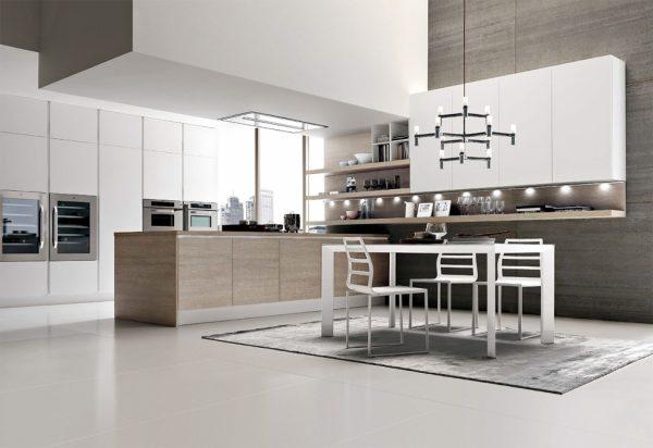 Кухня в стиле Luxury