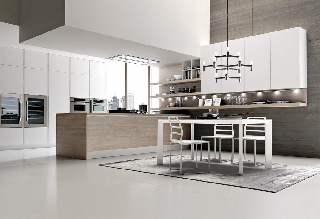 Luxury Italian White Kitchen Designs