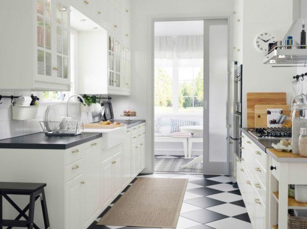 Скандинавский стиль на кухне