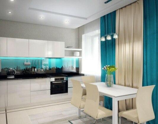 Кухонный фартук стекольный