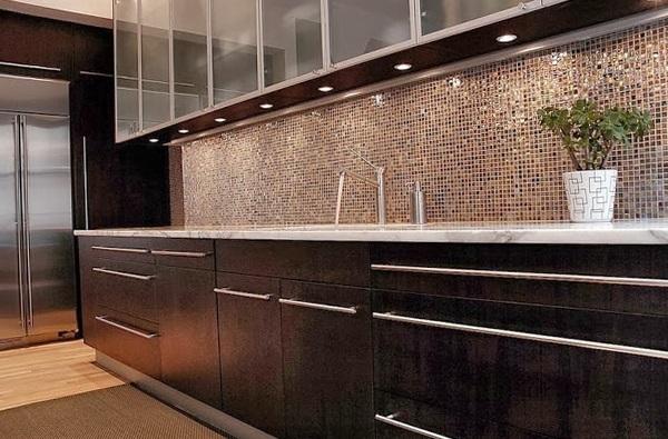 Мозаичная плитка в стиле интерьера
