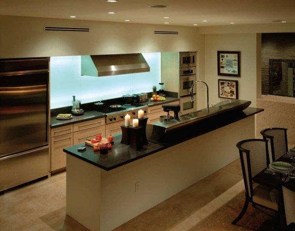 островной тип кухни