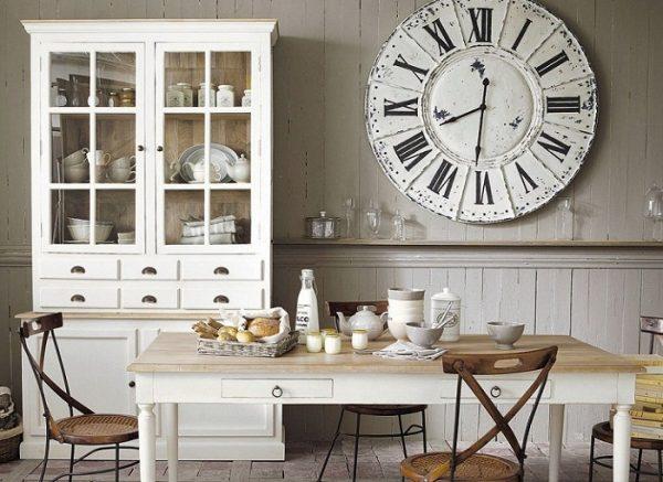 Буфет на кухне без верхних шкафов