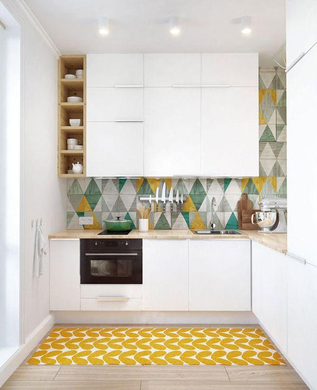 кухонный гарнитур для небольшой кухни