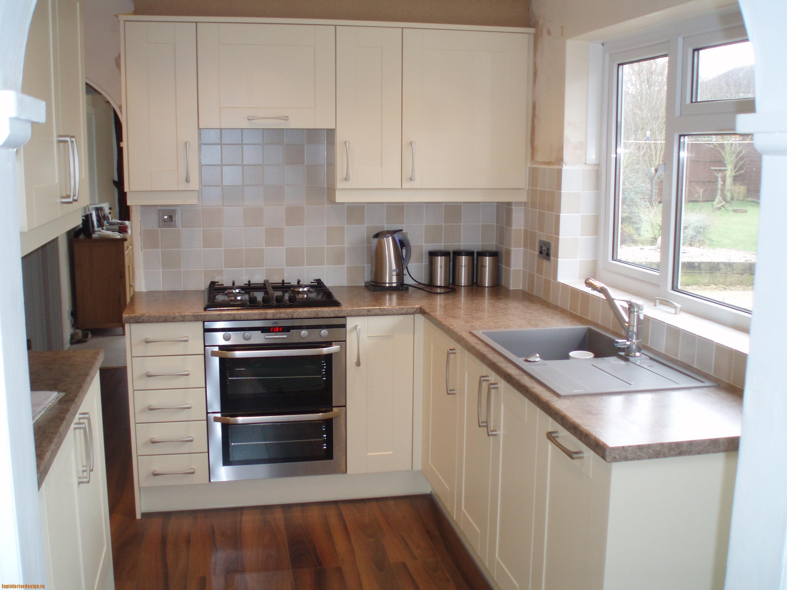 Дизайн кухни с угловой мебелью (52 фото)