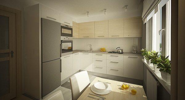 модерн угловая кухня