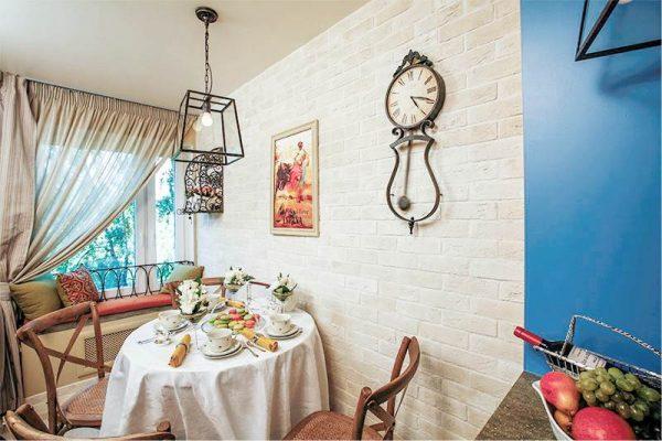 интерьер на кухне в средиземноморском стиле