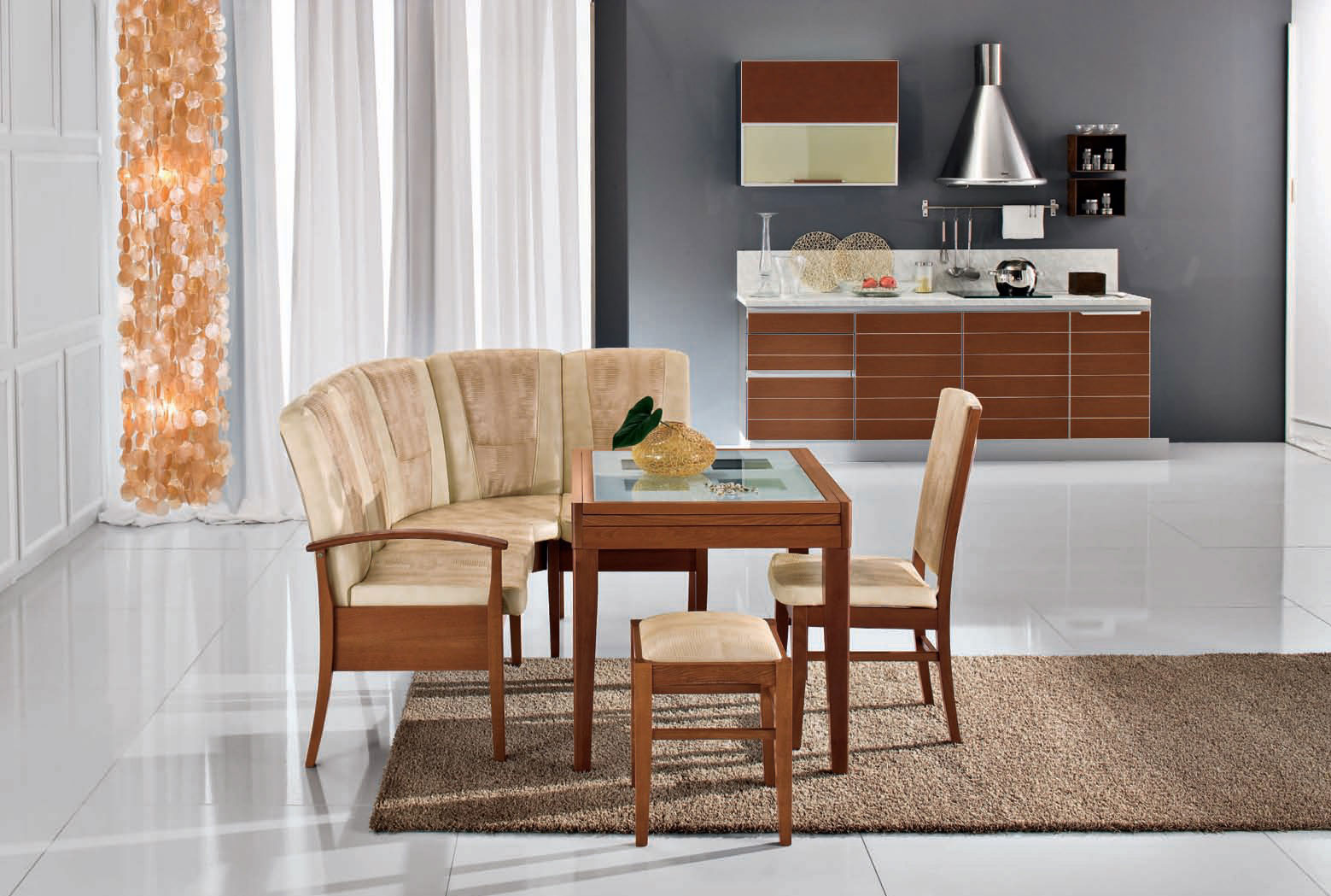 Кухонные диваны для маленькой кухни — фото примеров и советы по выбору
