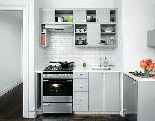 кухонный гарнитур для маленького пространства