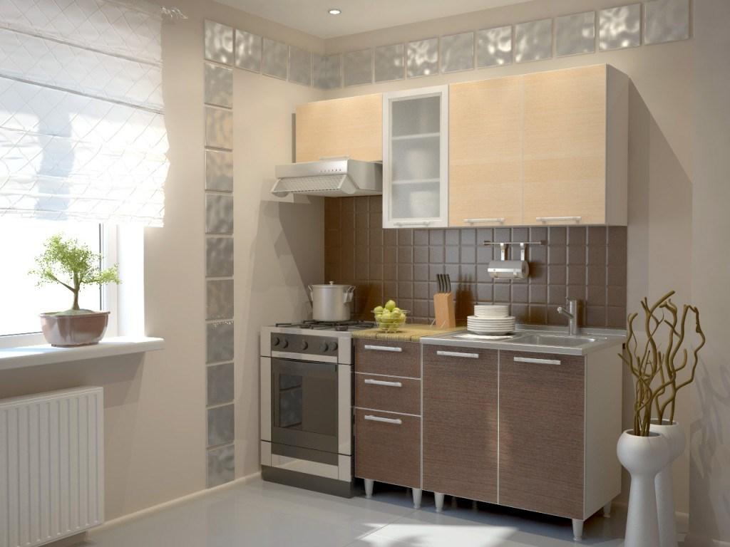 гарнитур для кухни в 2 метра
