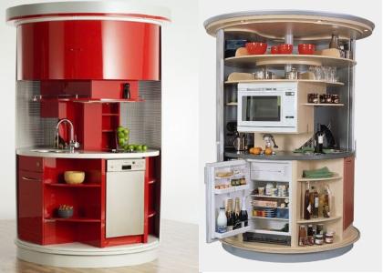 многофункциональный шкаф для кухни