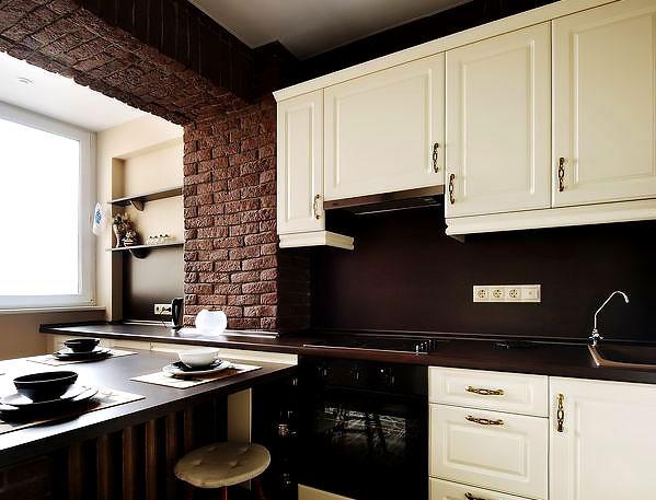 Классика в интерьере кухни