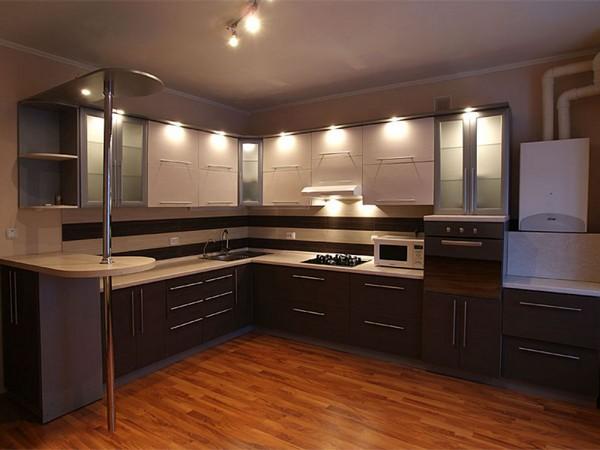 кухня фото угловая интерьер