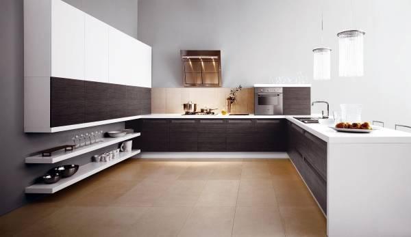 кухня в стиле luxury minimalizm