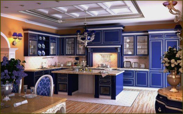 фиалетовая кухня
