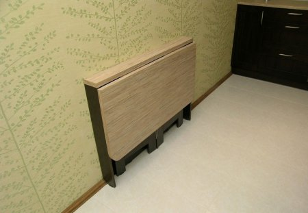 Стол раскладной пристенный