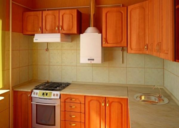 вполне могут маленькая кухня 2 2 5 с газовой колонкой запчастей