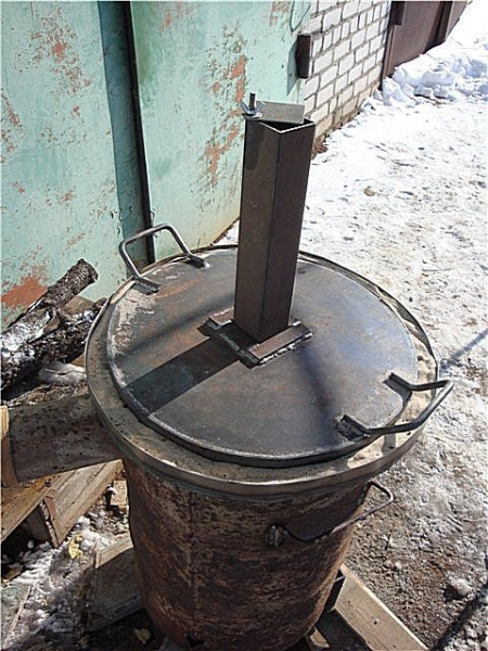 Печь бубафоня своими руками