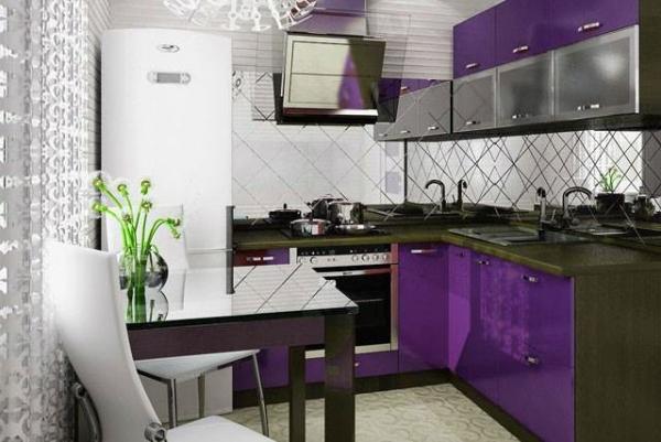Идеи как обставить маленькую кухню: лучшие варианты дизайна