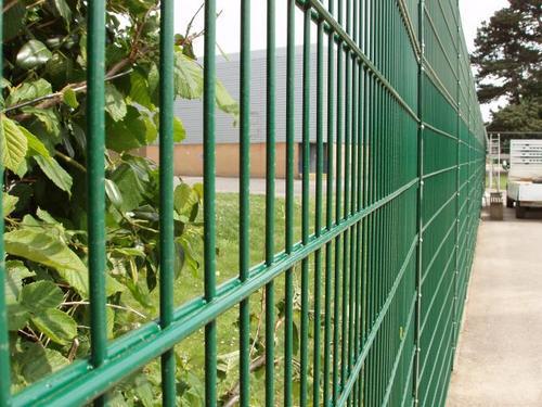 металлический забор секционный properimetr.ru