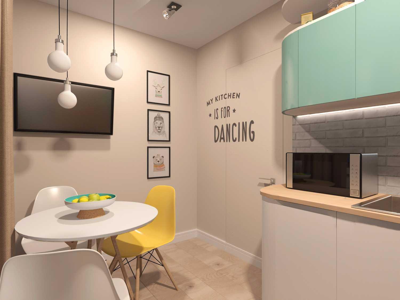 оригинальный дизайн кухни