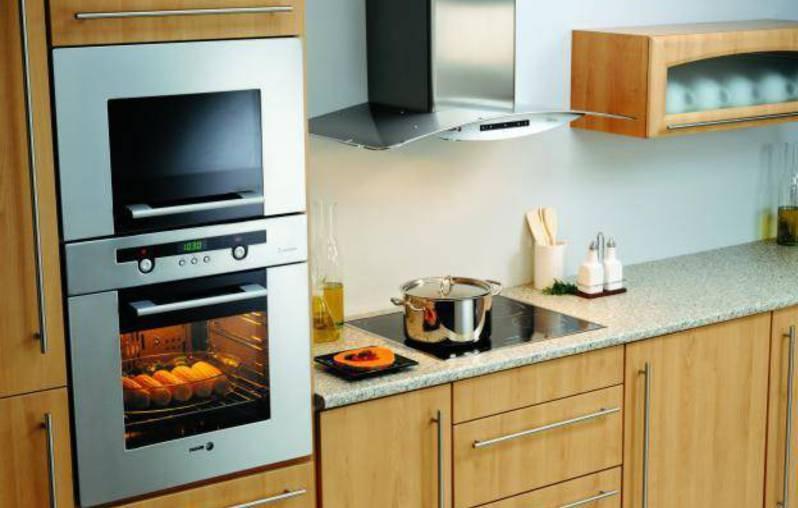 Встроенная техника на кухне