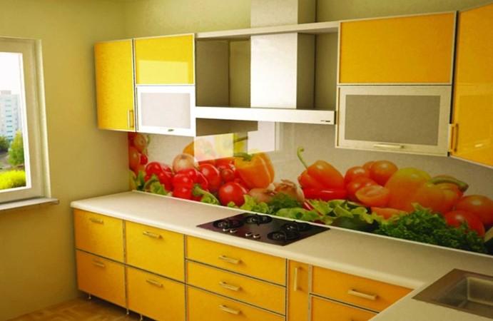 Кухонный фартук с натюрмортом