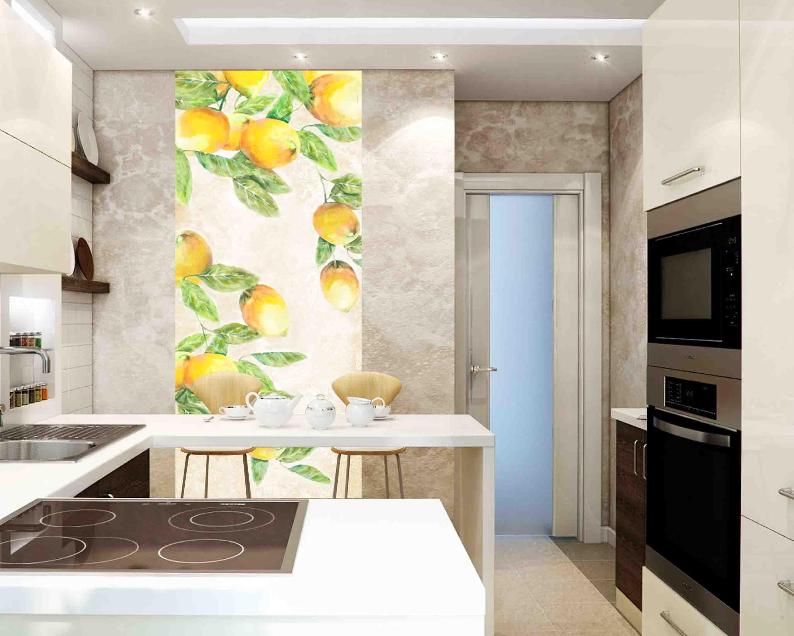 Декоративное панно на кухне