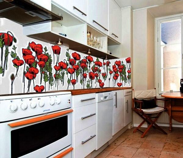 фотообои для фартука кухни
