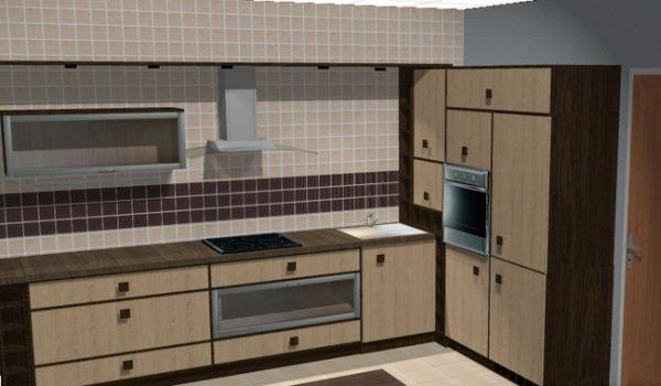 Угловая кухня своими руками из ДСП