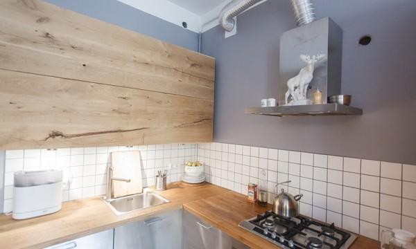 Кухня из дерева своими руками