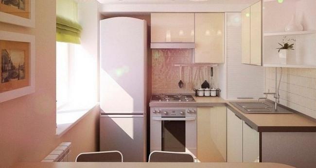 дизайн мебели для кухни 4кв.м.